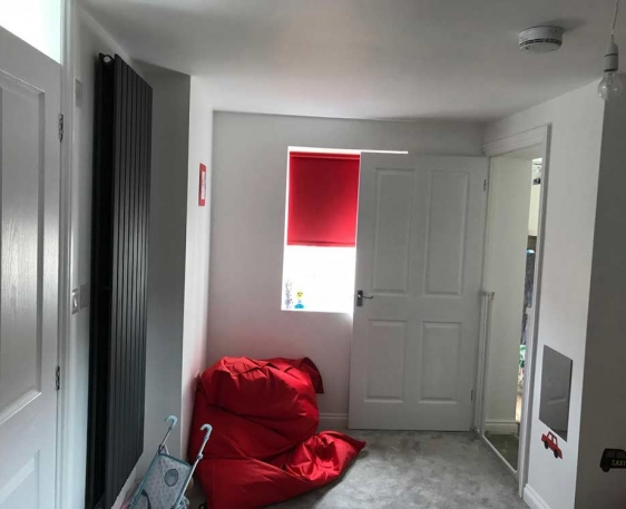 Extension with wet room and safe room in Aylesbury