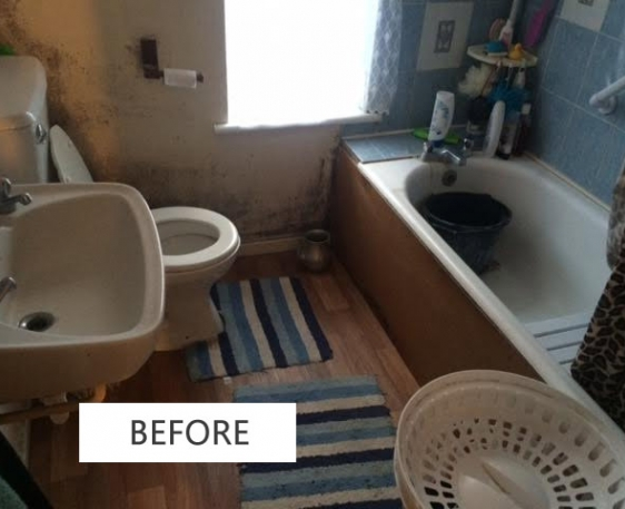 Bathroom to Wet Room conversion in High Wycombe