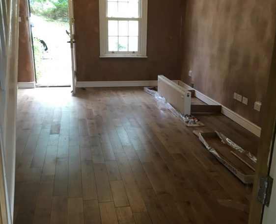 Downstairs conversion with updated electrics in Leighton Buzzard, Bedfordshire