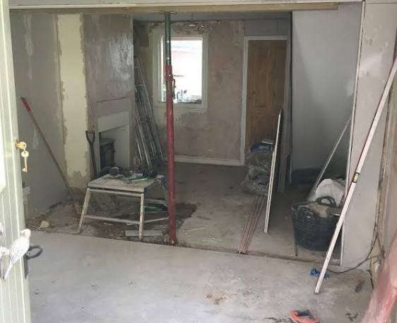 Downstairs overhaul for house in Thame
