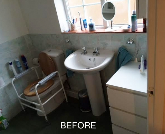 Easy access wet room conversion in Prestwood