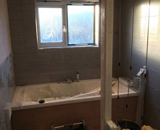 Plumbing and Heating for extension - Thame, Oxfordshire